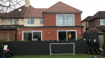 Rear Pitched Extension