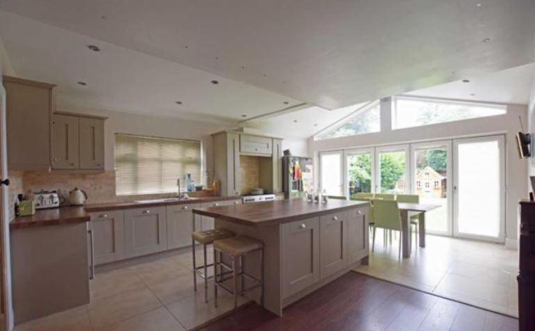 Cool Open Plan Kitchen Diner Blu Room Architecture Home Interior And Landscaping Ponolsignezvosmurscom